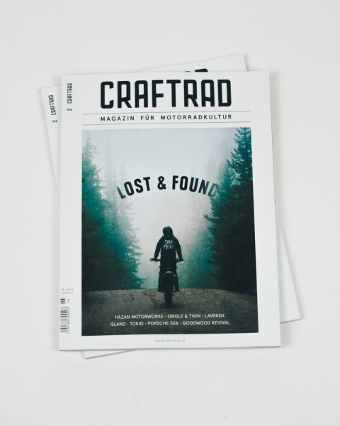 craftrad magazin für motorradkultur #6 lost & found