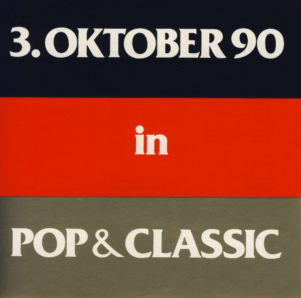 auvicom lp 3.oktober 90 in pop & classic
