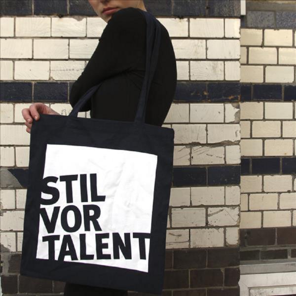 stil vor talent logo bag