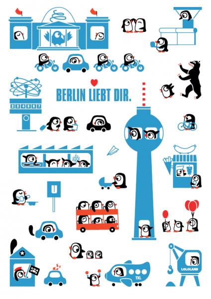 lololand geschirrtuch berlin liebt dir.