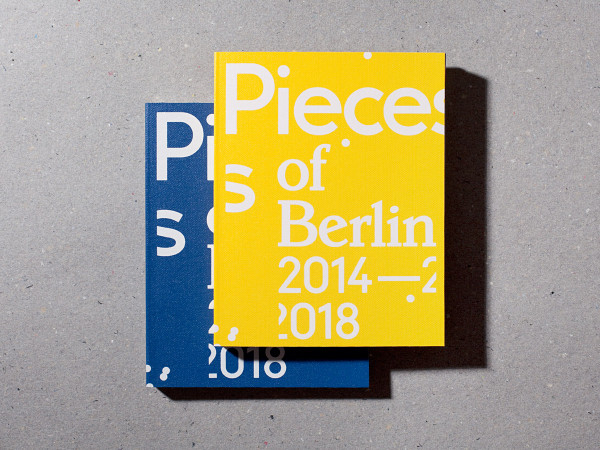 florian reischauer buch pieces of berlin 2014-2018