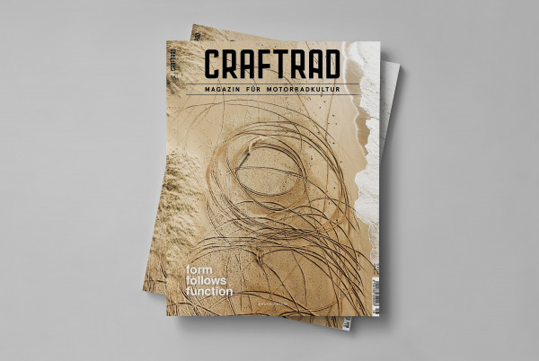 craftrad magazin für motorradkultur #16 form follows function