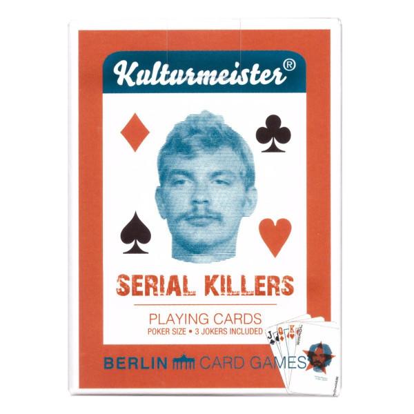 kulturmeister kartenspiel (poker) serial killers